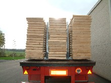 Here are boards of fir on a semitrailer