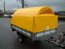 This is a made to measure tarpaulin to children trailer