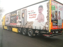 Here is a full four-colour digital printing on a semitrailer from Girrets Pierre costumer