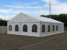 This Schreiber clearspan marquee was set up by a council situated in the Flemish region of Belgium