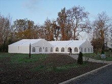 20x12 m and 10x12m clearspan marquees in Muret (Toulouse – France)