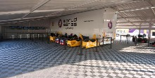 Auvent pour semi remorque ORECA - World series by Renault