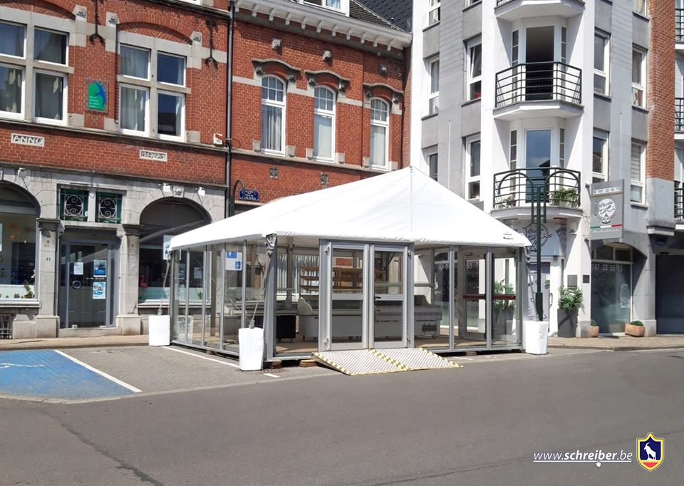 Commercial extension for Remacle Boulangerie in Herve!