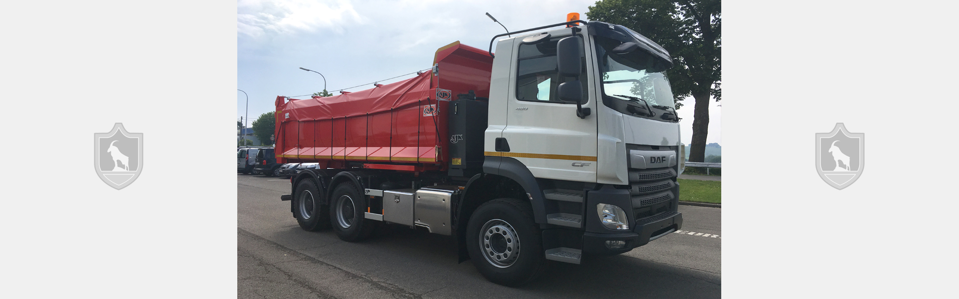 Tarpaulins for tippers